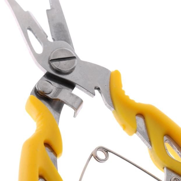 Alicate Bico Fino Multifunção 80157 Amarelo - CMIK
