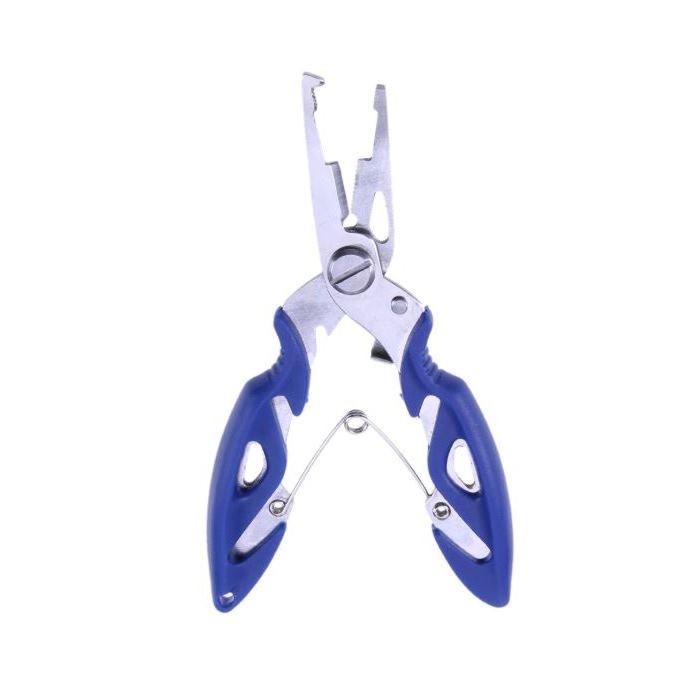 Alicate Bico Fino Multifunção Azul - CMIK