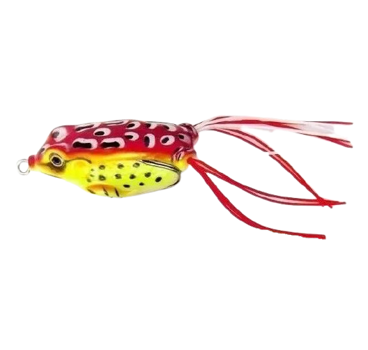 Isca Artificial Frog Anti Enrosco 4,5cm Vermelho - 09 gramas