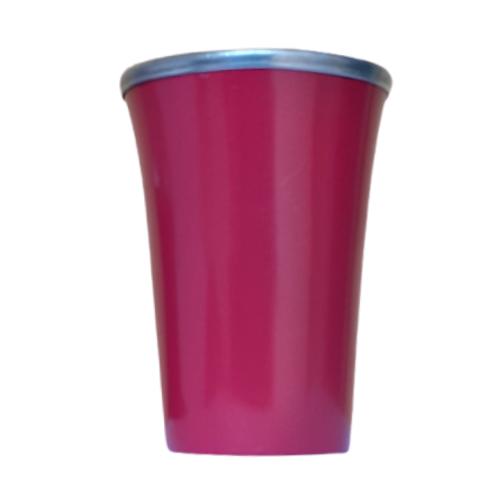 Cuia Copo de Tereré de Alumínio Vinho - 200 ML
