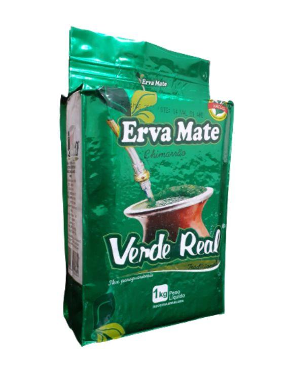 Erva Mate para Chimarrão Sabor Tradicional 1 KG - Verde Real