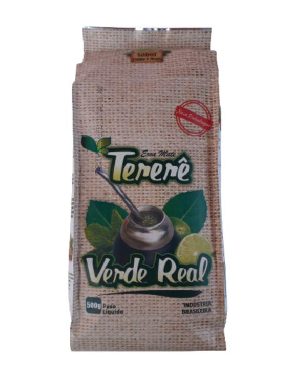 Erva para Tereré sabor Limão y Menta 500 gramas - Verde Real