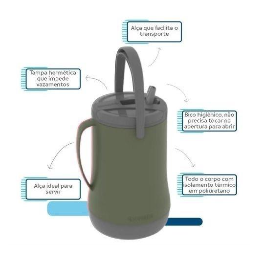 Garrafa Isotérmica Grantermo 2,5 Litros - Soprano