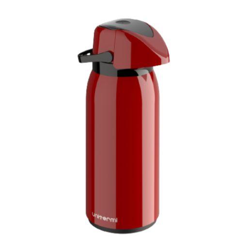 Garrafa Térmica Verona 1,8 Litros Vermelho - Unitermi