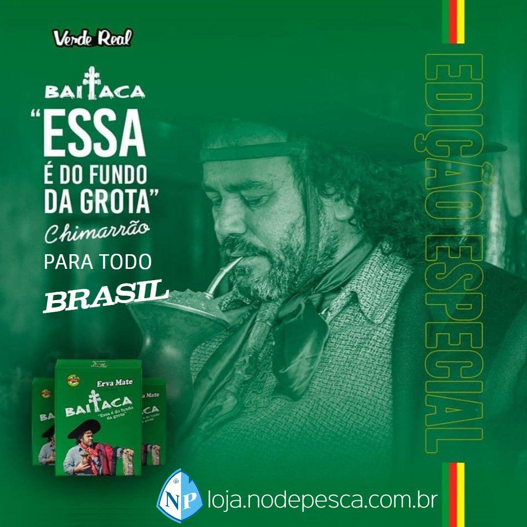 Kit 2 Ervas Chimarrão Baitaca 1kg Edição Especial Verde Real