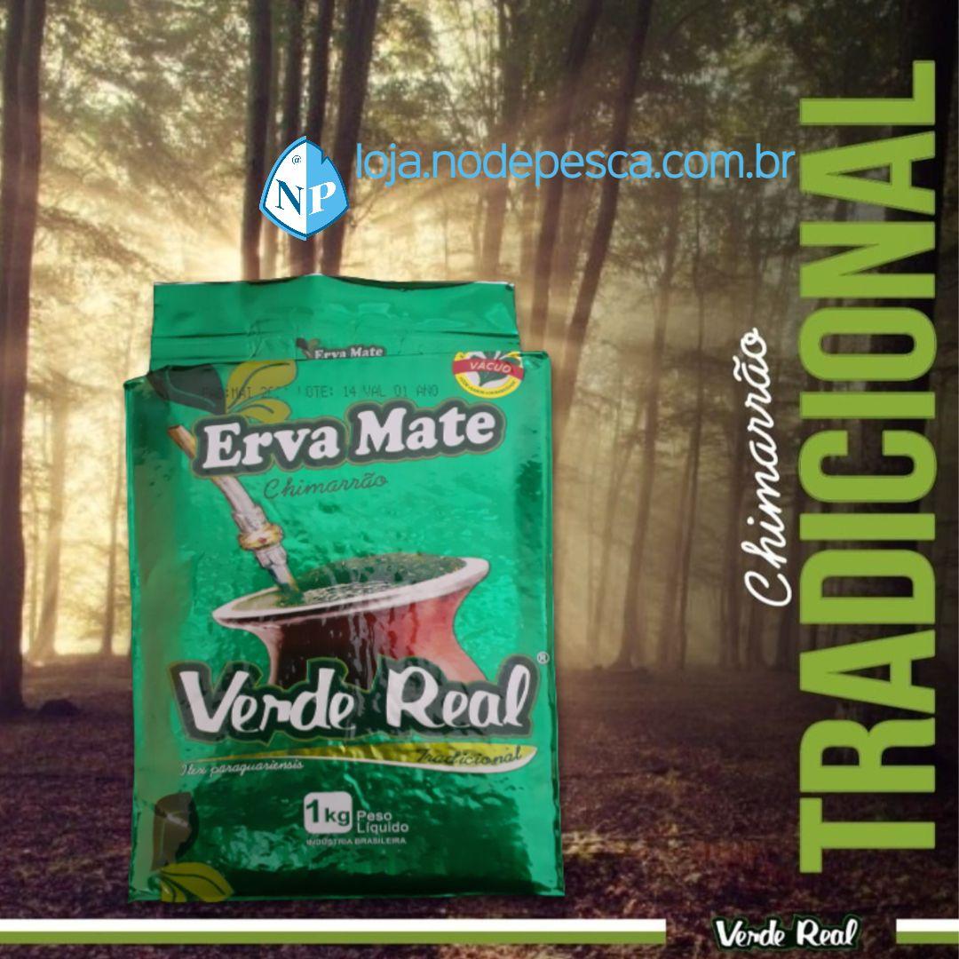 Kit 3 Ervas Mate Para Chimarrão Tradicional 1Kg - Verde Real