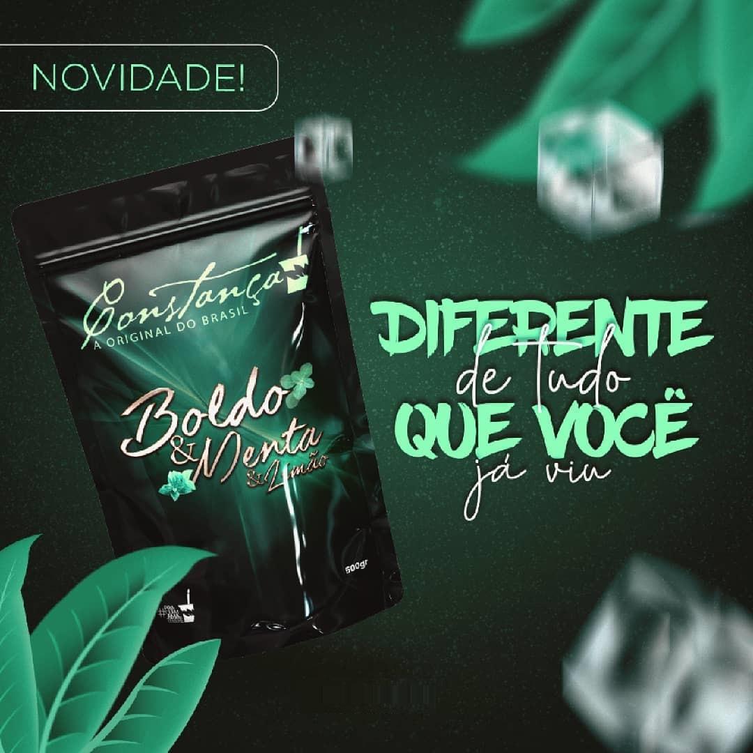 Kit 5 Ervas Mate Boldo Menta E Limão 500 Gramas - Constança