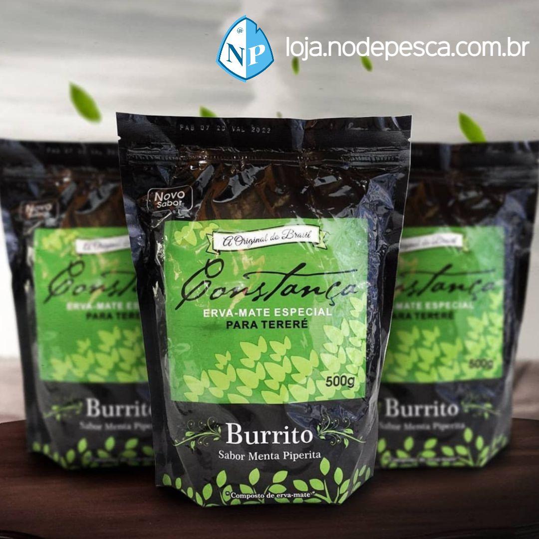Kit 5 Ervas Mate Tereré Burrito 500 Gramas - Constança