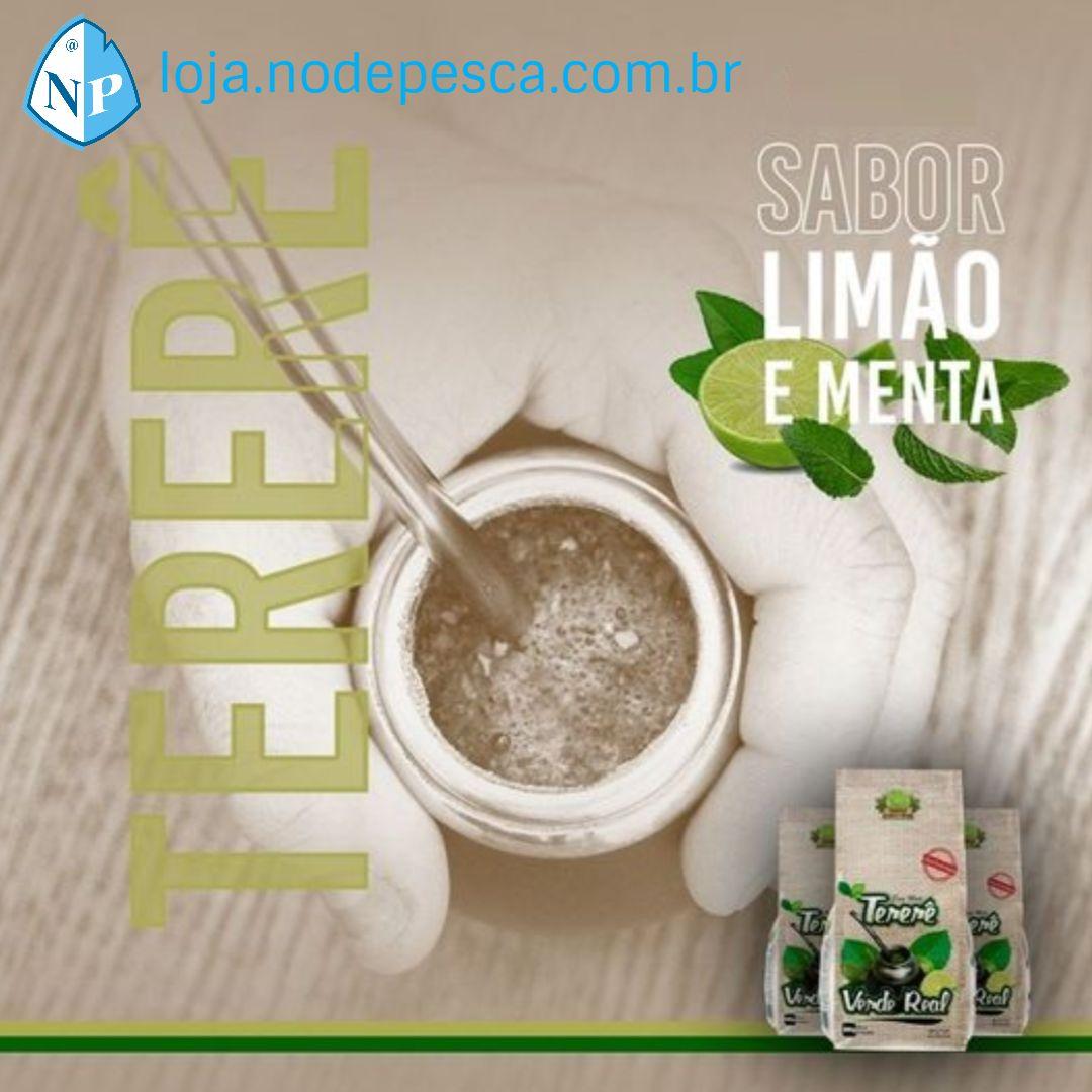 Kit 3 Erva para Tereré sabor Limão y Menta 500 gramas - Verde Real