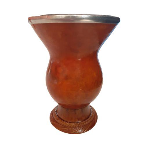 Kit - Cuia Porongo Tradicional + Bomba Aço Inox