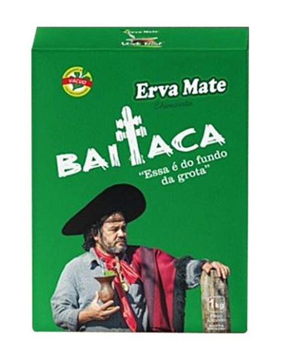 Kit Garrafa Térmica Inox 1,8 Lt + Erva Chimarrão Baitaca 1kg