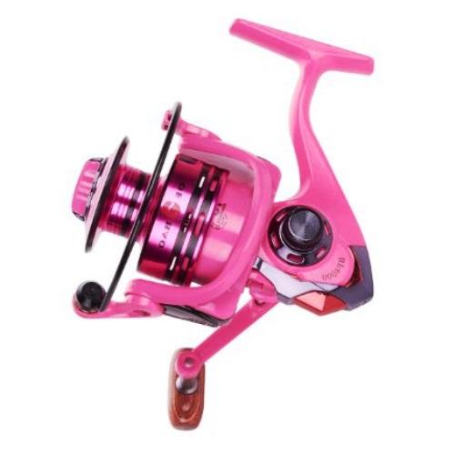 Molinete Pink Fb4000 + Linha Multifilamento Strong 0.23