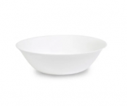 Tigela de Vidro Branco para Água SEM FURO 500ml