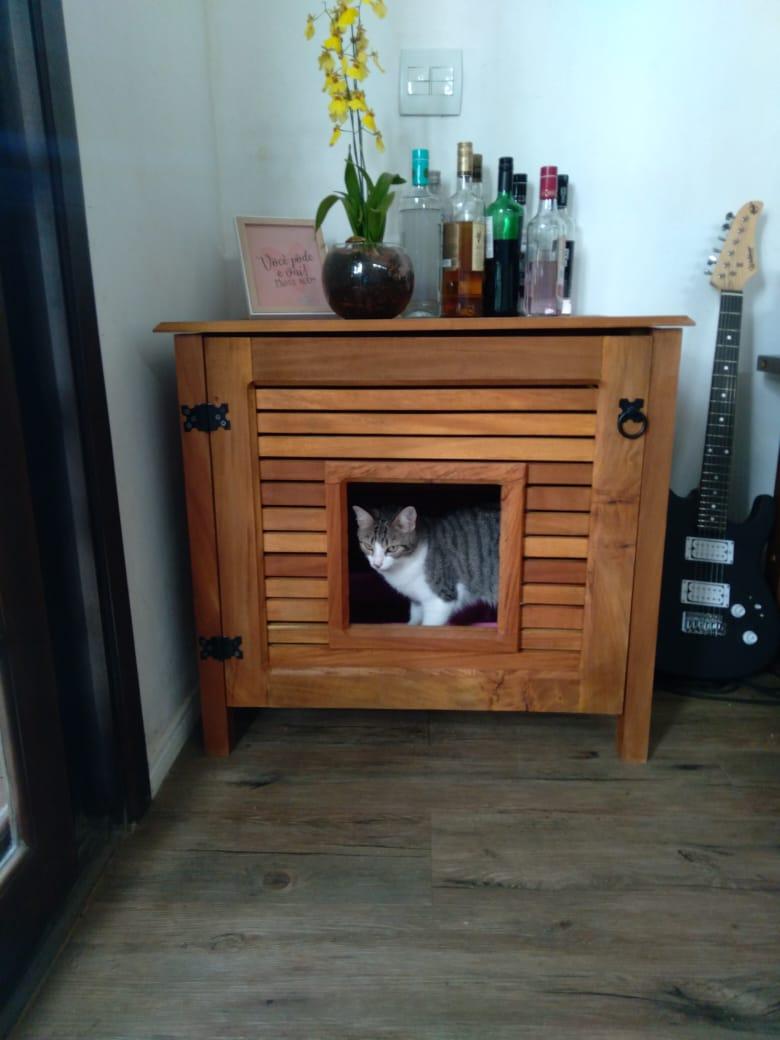 Banheiro Fechado para gatos em Grápia Petneon