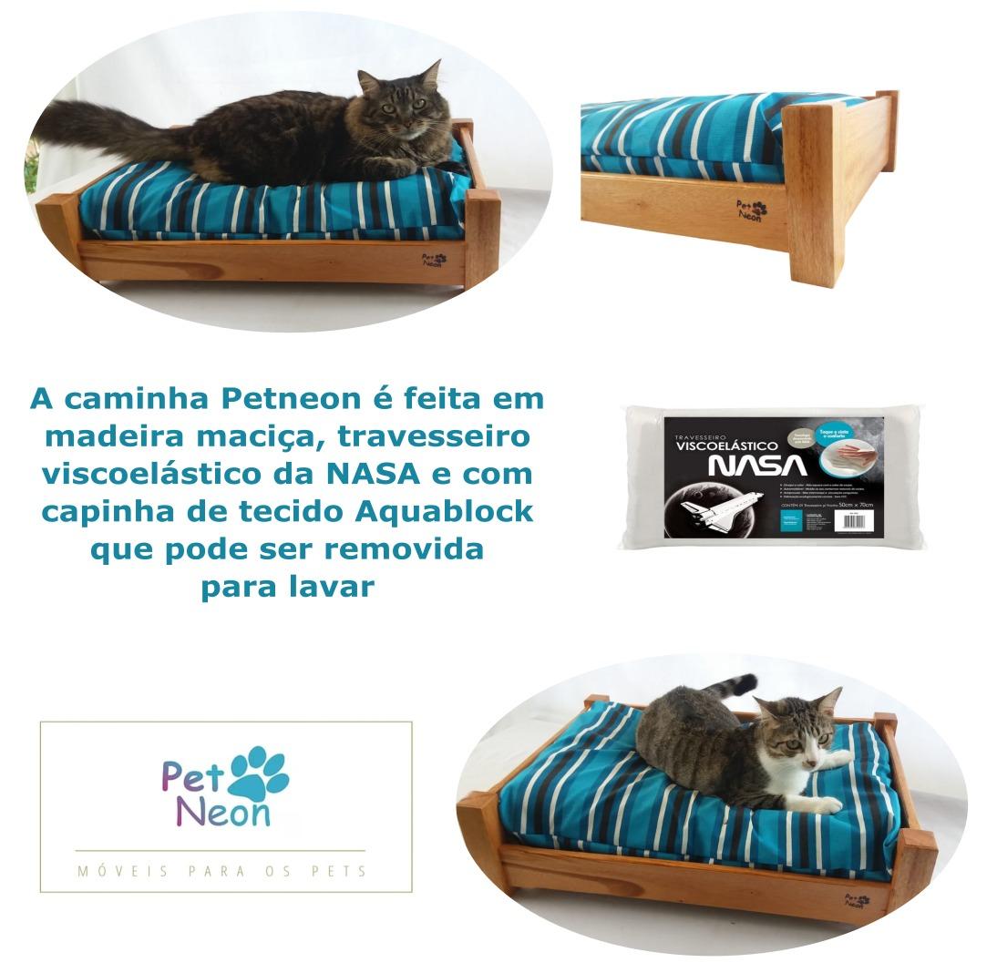 Caminha Pequena Cães e Gatos Petneon