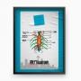 Kit de Quadros Grey's Anatomy (5 quadros)