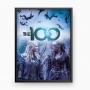 Kit de Quadros The 100 (4 quadros)