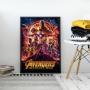 Quadro Avengers - Infinite War