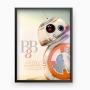 Quadro Bb-8 - Star Wars