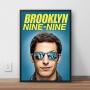 Quadro Brooklyn 99 - Jake Peralta