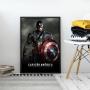Quadro Capitão América - O Primeiro Vingador