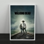 Quadro Carl E Rick - The Walking Dead