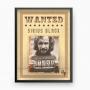 Quadro Cartaz De Procurado - Sirius Black - Harry Potter