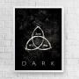 Quadro Dark - Triquetra