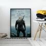 Quadro Geralt De Rivia - The Witcher