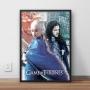 Quadro Jonerys - Game Of Thrones