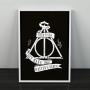 Quadro Master of Death - Harry Potter