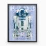 Quadro R2D2 - Star Wars