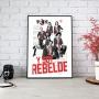 Quadro Rbd - Y Soy Rebelde