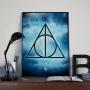 Quadro Relíquias Da Morte - Harry Potter