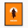 Quadro The Mandalorian