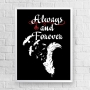 Quadro The Vampire Diaries - Always and Forever