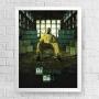 Quadro Walter White - Breaking Bad