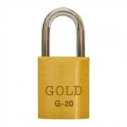 Cadeado de Latão Maciço G-20mm Gold