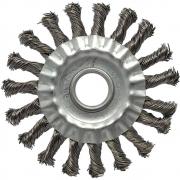 Escova de Aço Carbono JN Trançada 4.1/2