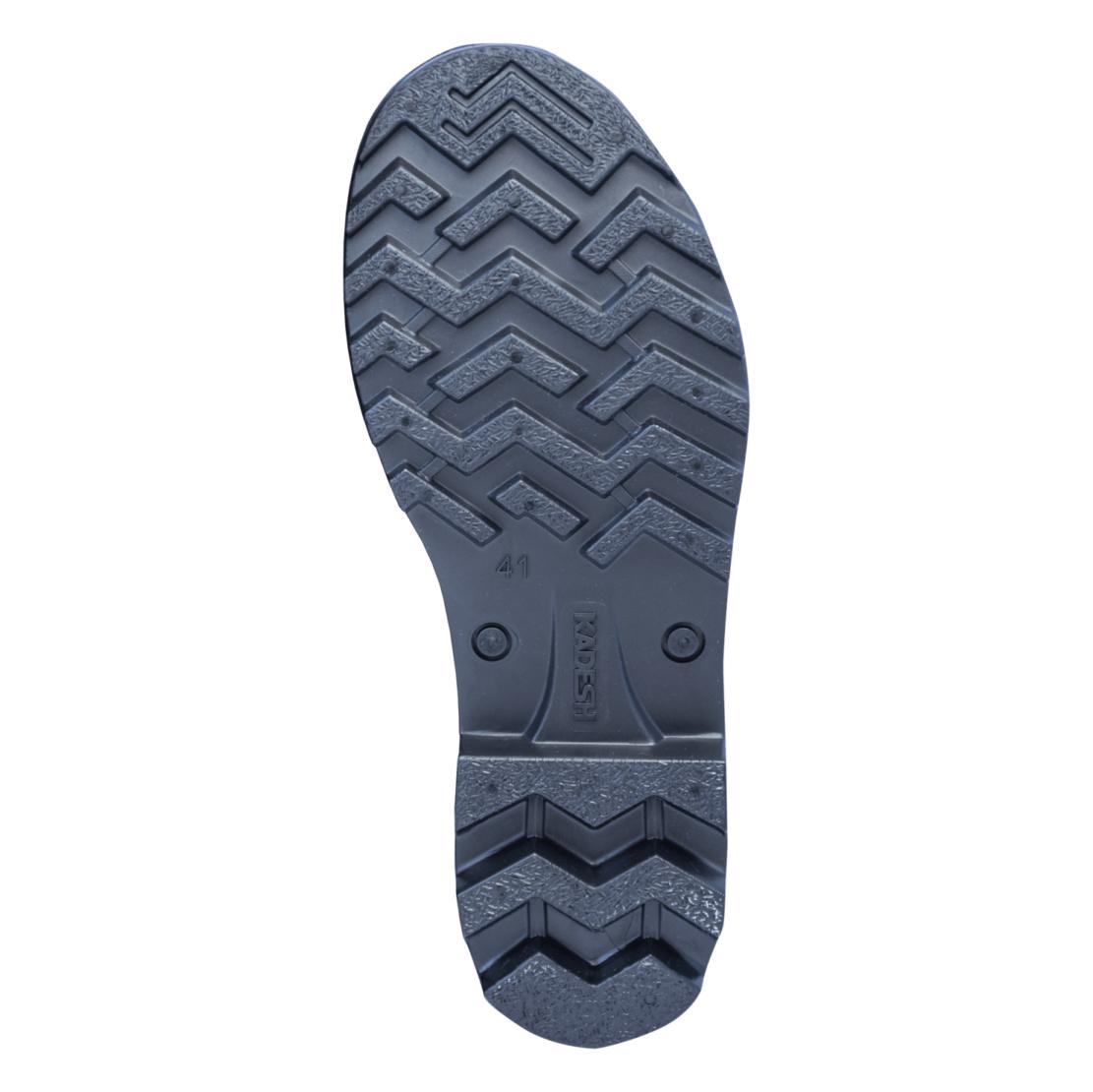 Bota Pvc Preta Safety Boots Cano Médio  Kadesh - B16307