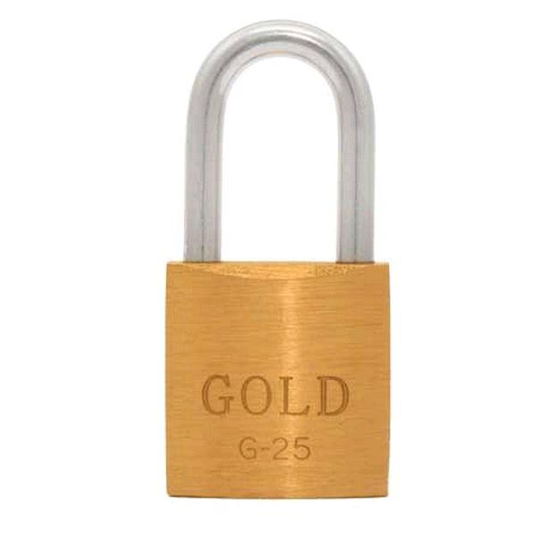 Cadeado de Latão Maciço G-25mm Gold