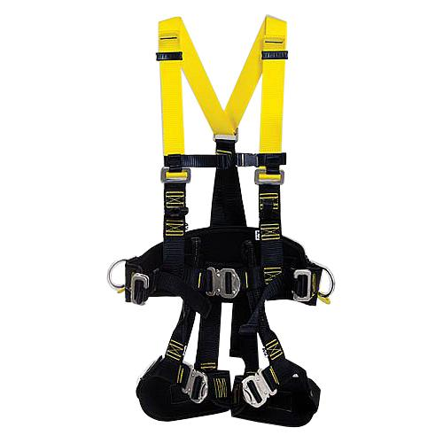 Cinto Segurança Paraquedista 3Argolas Inox Acolchoado AT7031