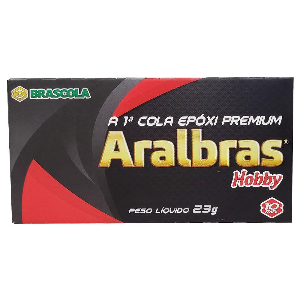 Cola Epóxi Aralbras Hobby Brascola 23 g