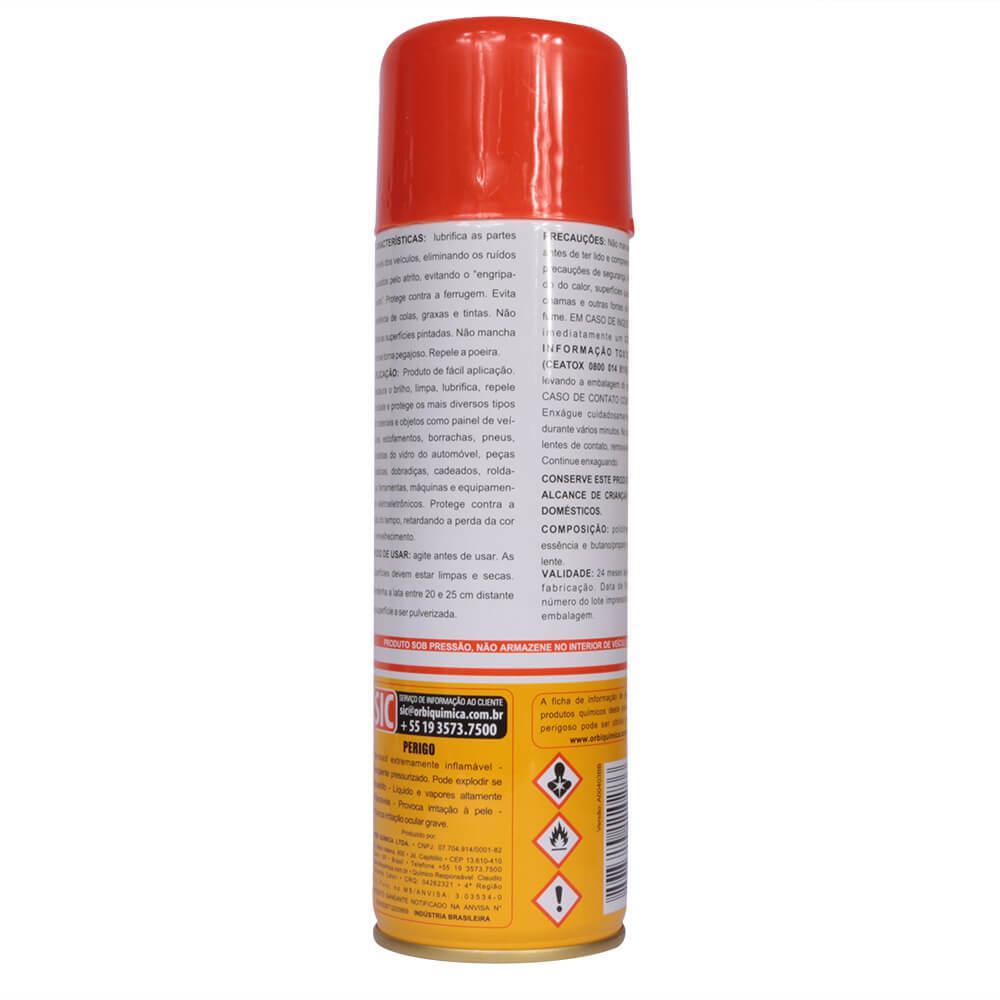 Silicone Protetivo em Spray OrbiSil 300 ml