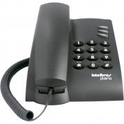 Telefone Intelbras Pleno com Fio - Preto
