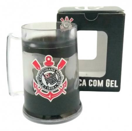 Caneca Gel Congelante Corinthians 300 Ml Oficial
