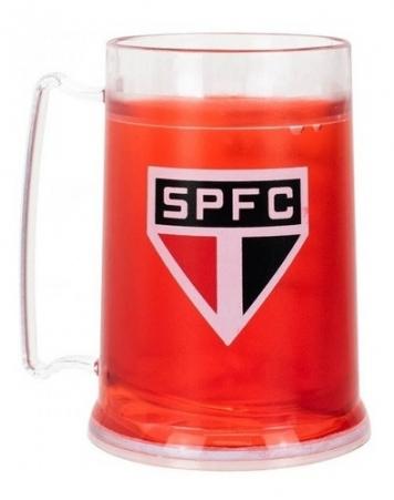 Caneca Gel Congelante São Paulo Fc - Produto Oficial Spfc