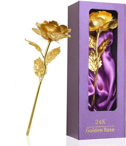 A Rosa Encantada De Ouro Dourado