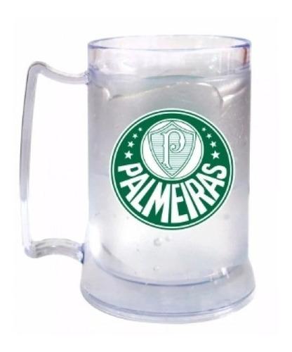 Caneca Gel Congelante Palmeiras 400ml Produto Oficial