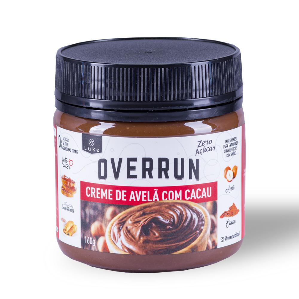 Creme de Avelã c/ Cacau Zero Açúcar 160gr